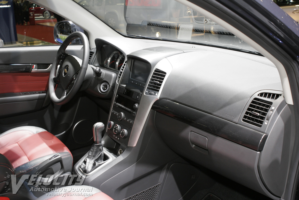 2006 Chevrolet Captiva Interior. 2006 Geneva International Motor Show