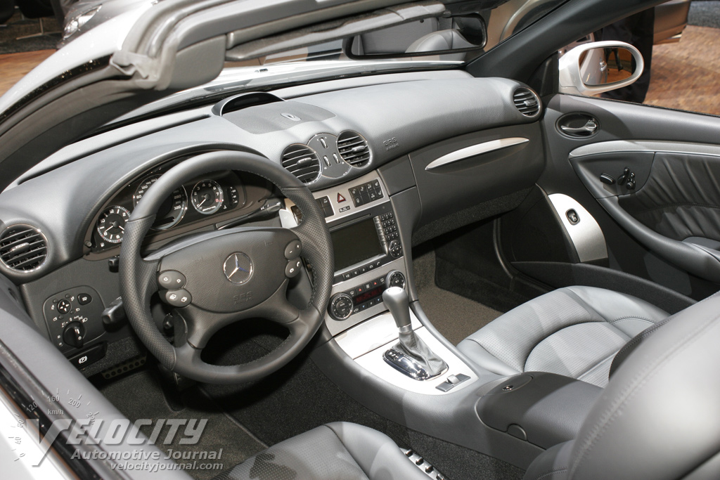 2007 Mercedes-Benz CLK-class Cabriolet Interior