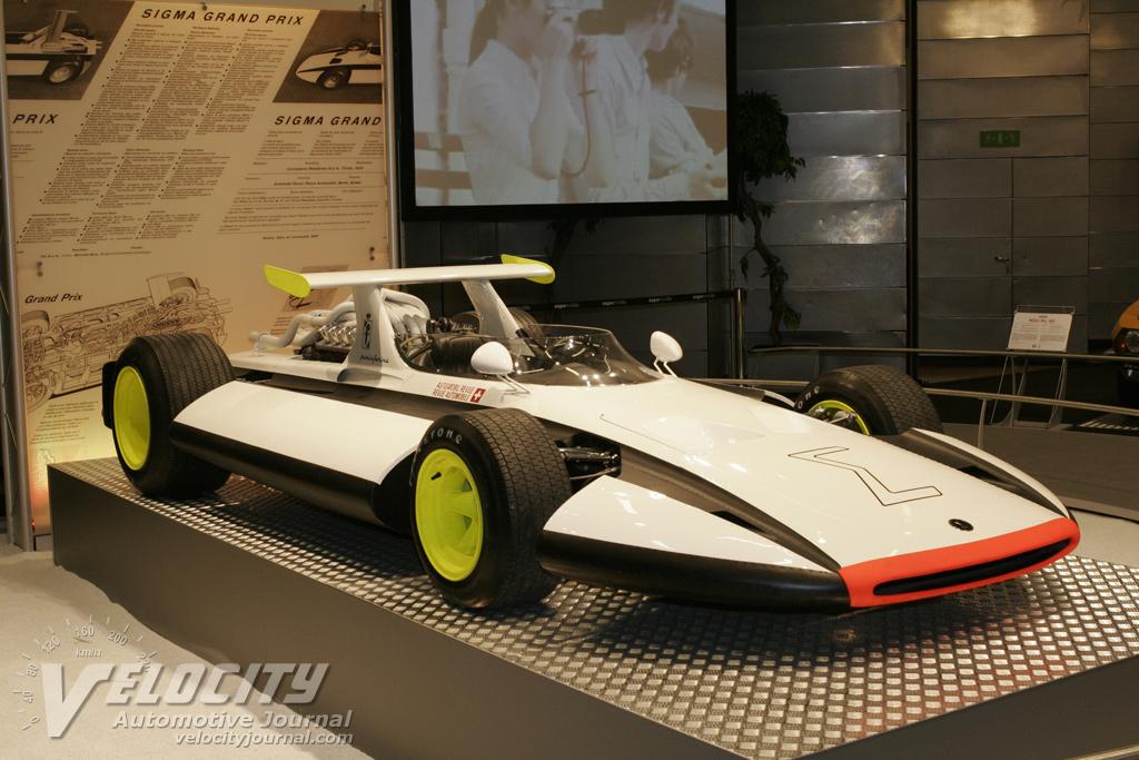 1969 Pininfarina Sigma Grand Prix