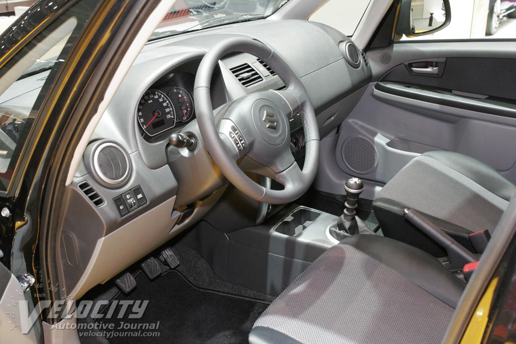 2007 Suzuki SX4 Interior