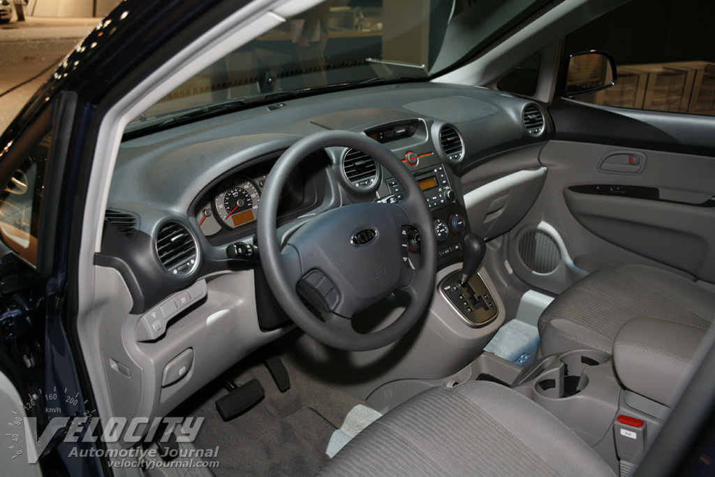 2007 Kia Rondo Interior. 2006 Los Angeles International Auto Show