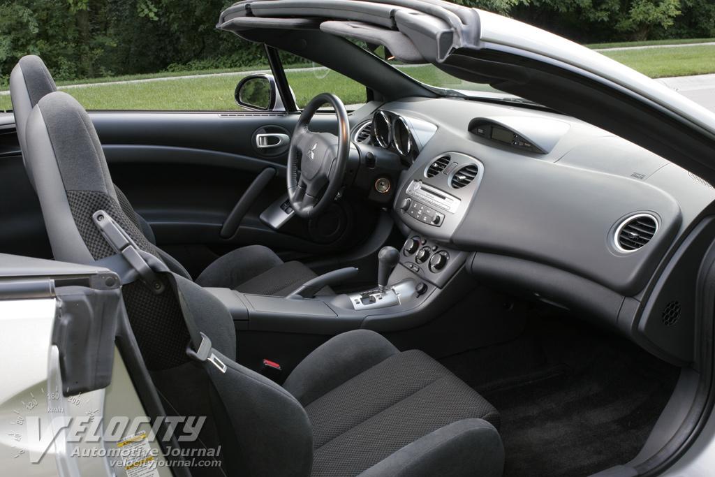 2014 Mitsubishi Eclipse Spyder Interior 2007 Mitsubishi Eclipse Spyder