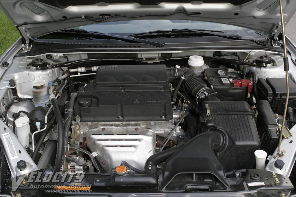 2007 Mitsubishi Eclipse Spyder GS Engine