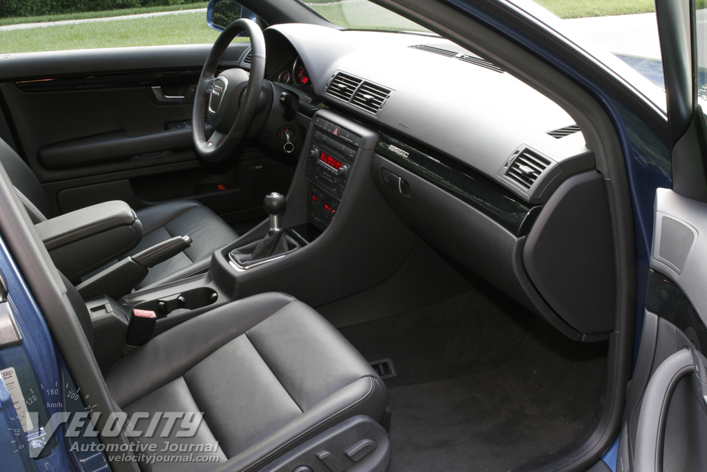 2006 Audi A4 2.0T S-Line Sedan Interior
