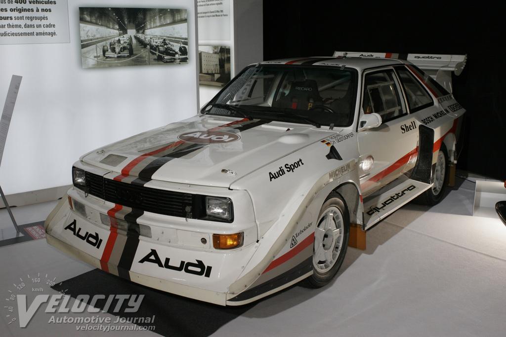 1984 Audi Quattro S1