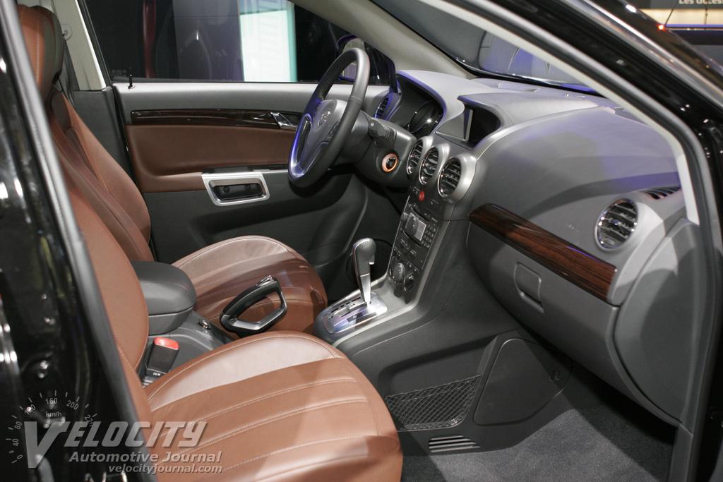 2007 Opel Antara Interior