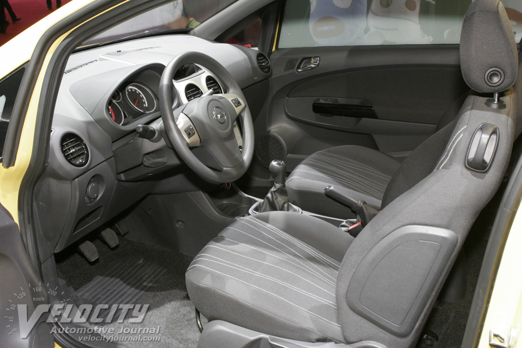 Picture of 2007 opel corsa 3d for Opel corsa e interieur
