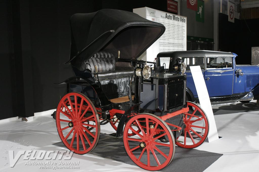 1890 Panhard Amp Levassor P2d Phaeton Information