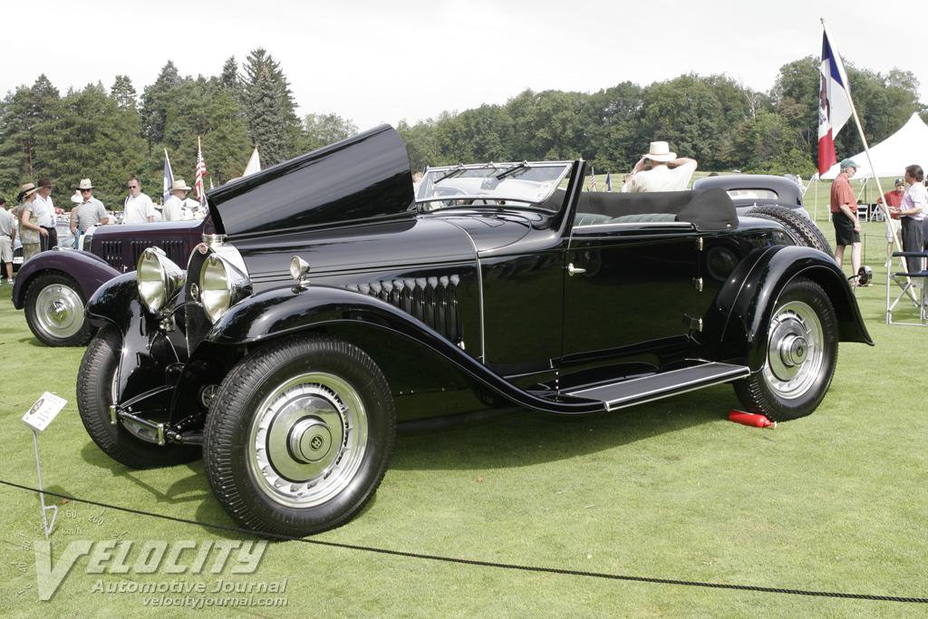 1932 Bugatti Type 50 Drophead Coupe