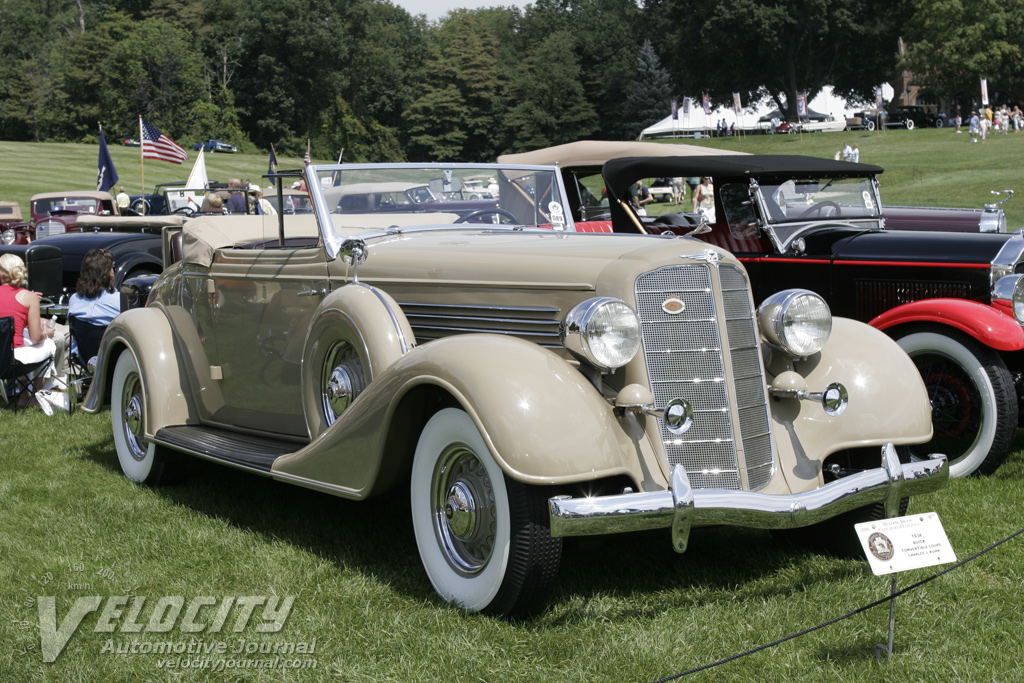1934 Buick Convertible Coupe