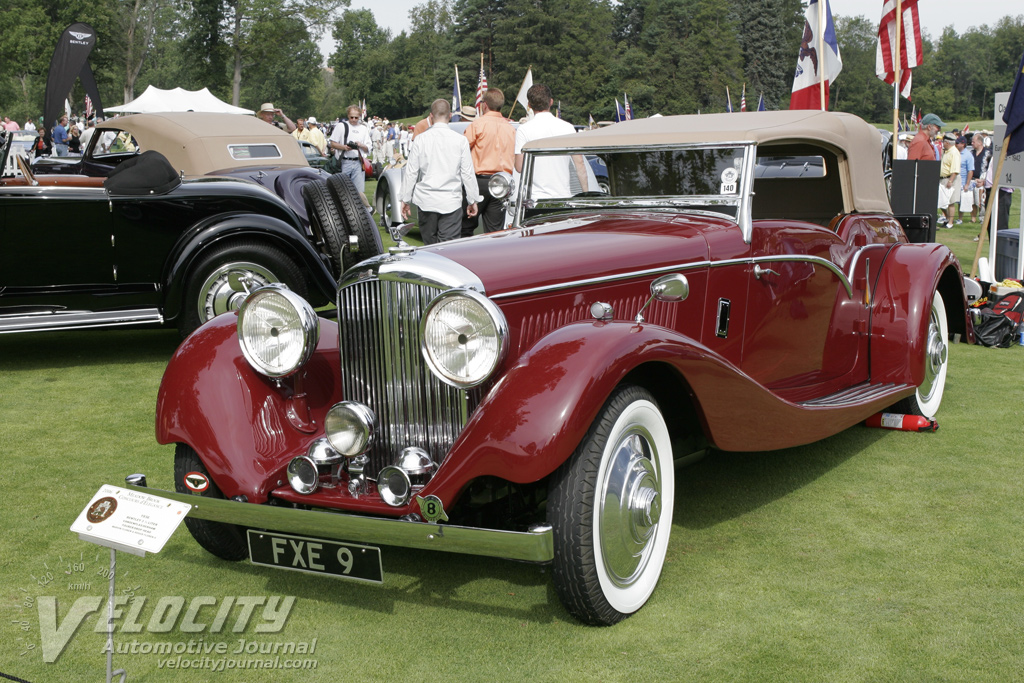 1936 Bentley 3.5 Liter Vandenplas/Derham Tourer