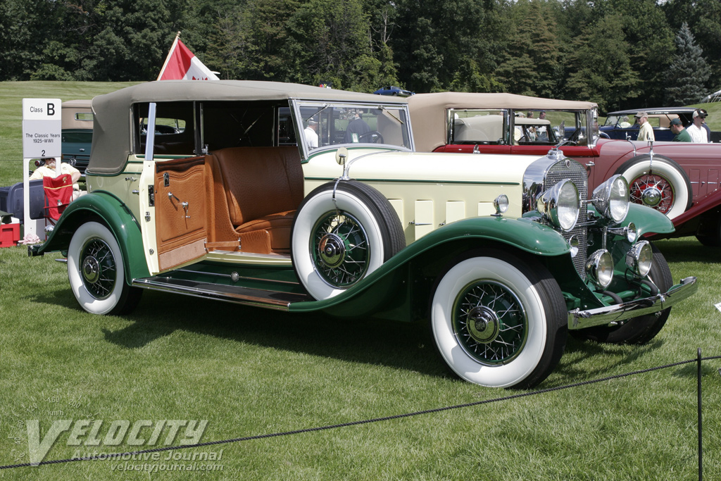 1931 Cadillac 12 All Weather Phaeton