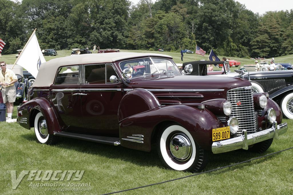 imcdborg 1938 cadillac series 65 convertible sedan 6549