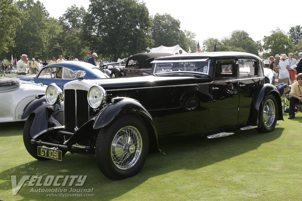 1932 Daimler Double-Six Sport Saloon