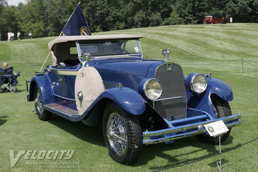 1929 Du Pont Model G Boattail Speedster
