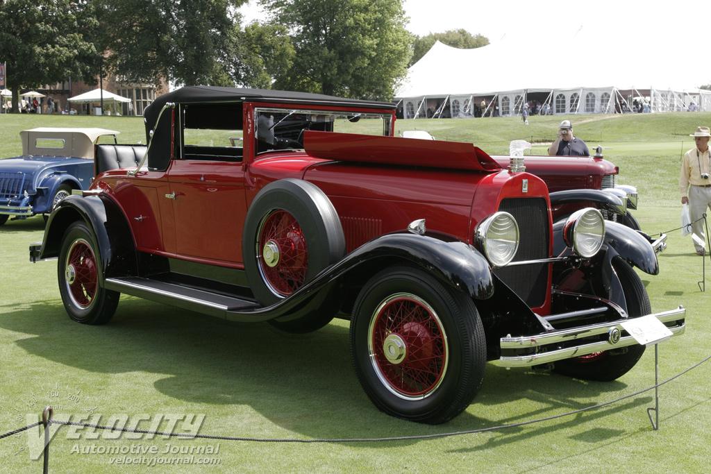 1929 Du Pont Model G Convertible Coupe