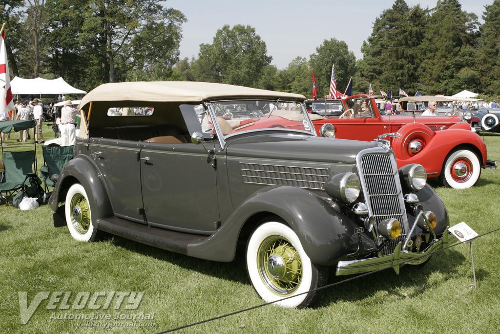 1935 Ford Phaeton Information