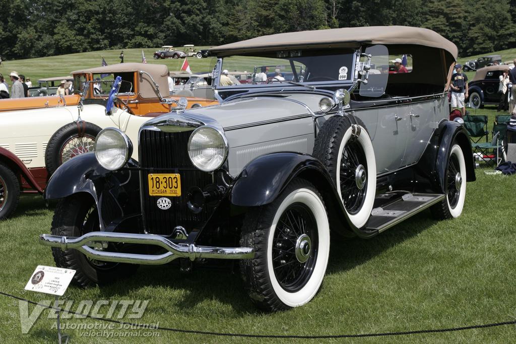 1931 Lincoln Model L Sport Phaeton
