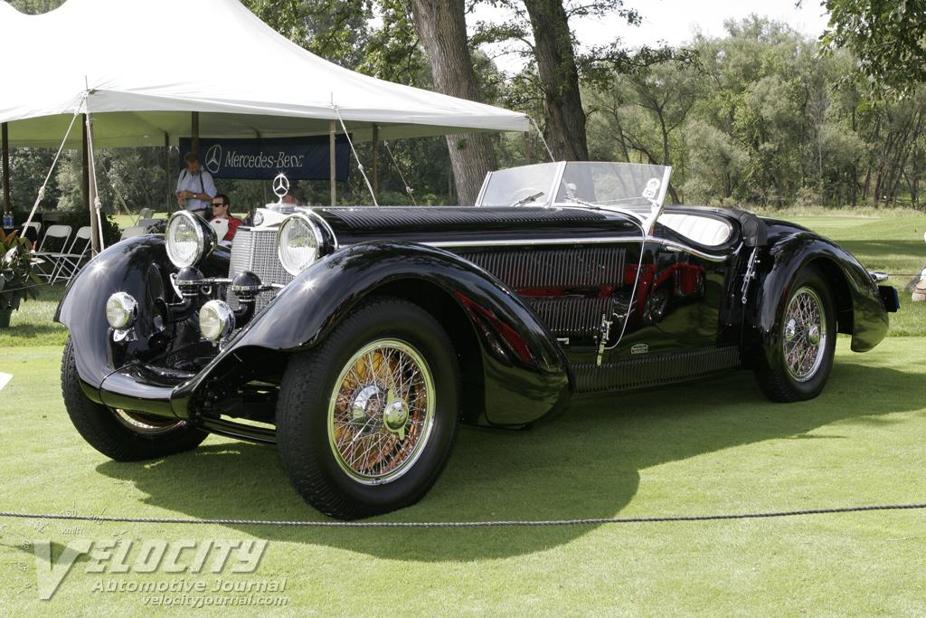 1930 Mercedes-Benz SS Erdmann & Rossi Roadster