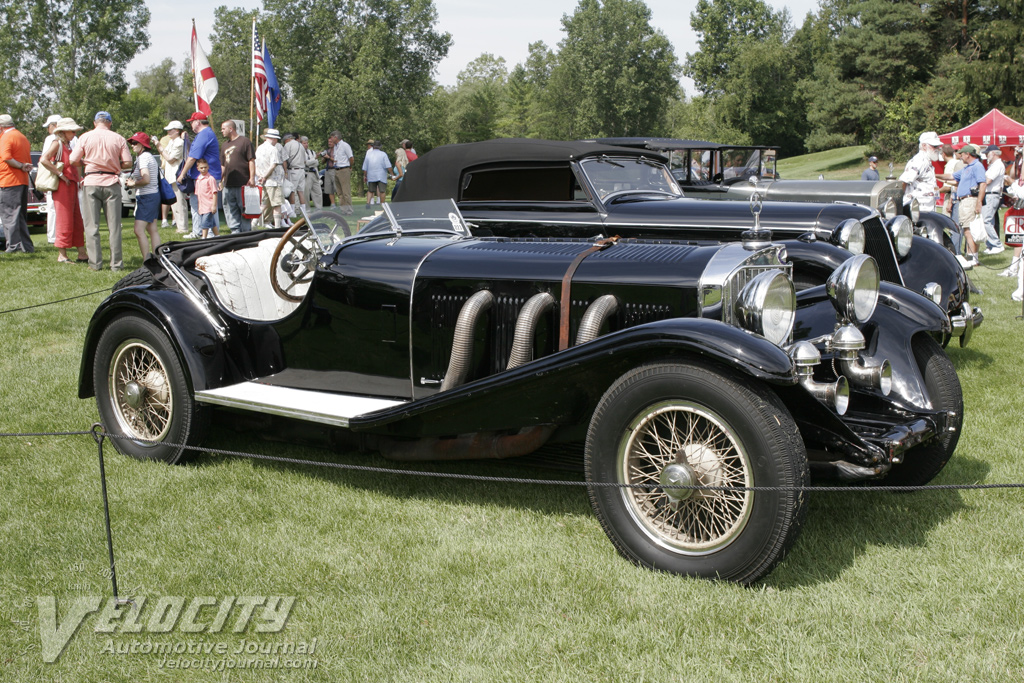 1931 Mercedes-Benz SSK Sport 2