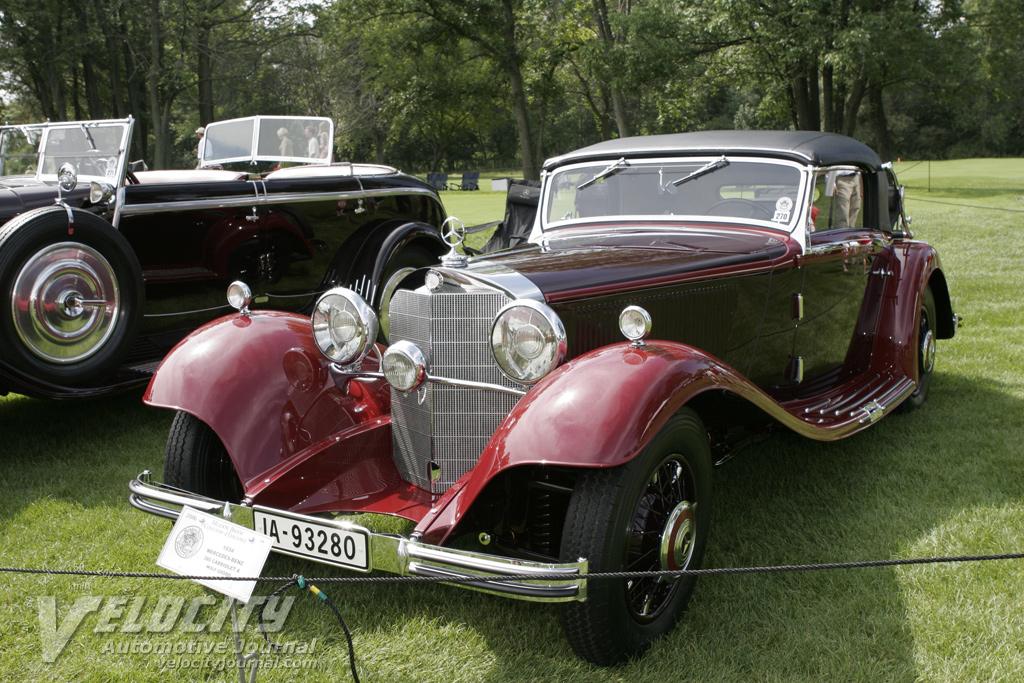 1934 Mercedes-Benz 380 Cabriolet A