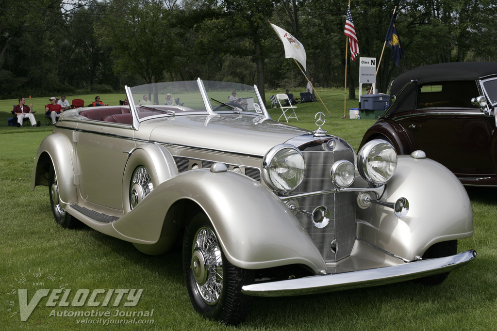 1938 Mercedes-Benz 540K Tourenwagen