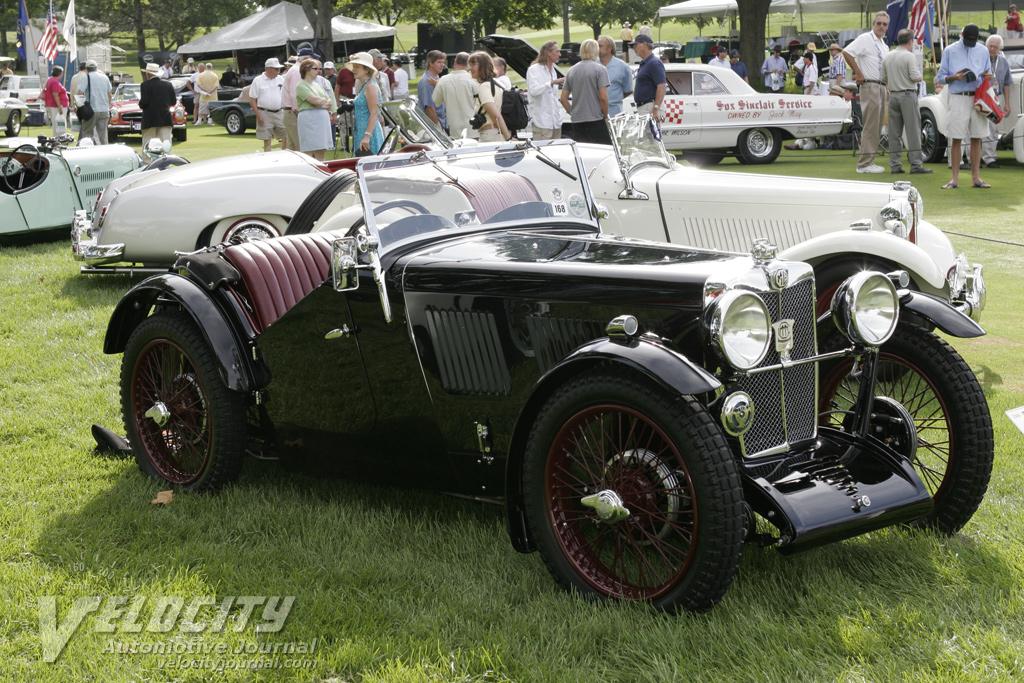 1933 MG J2 Open Sports