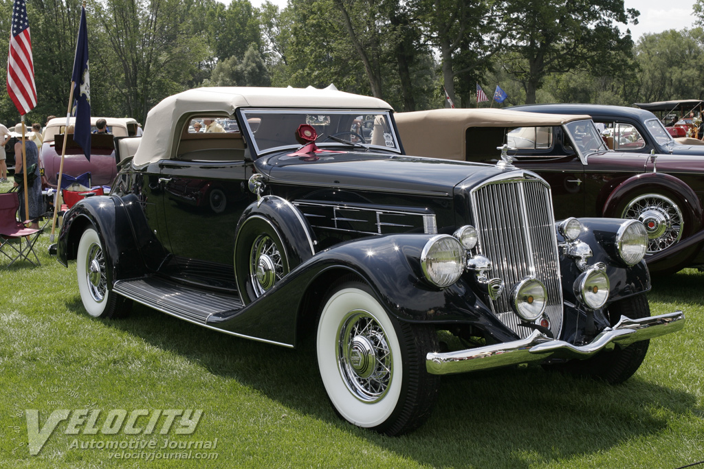 1935 Pierce-Arrow Rumble Seat Roadster