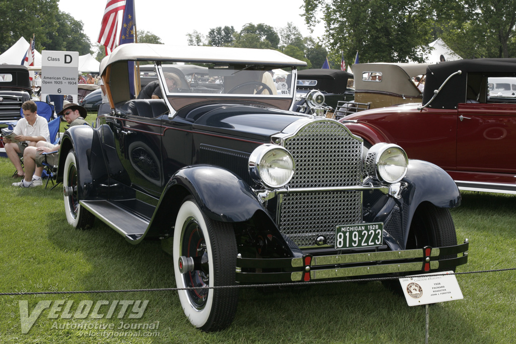 1928 Packard Roadster