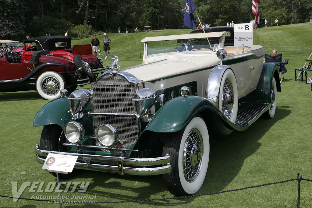 1931 Packard Waterhouse Convertible Victoria