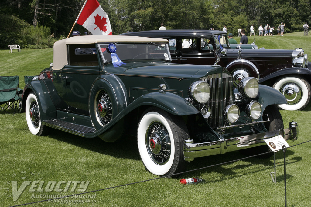 1932 Packard 12 Convertible Coupe