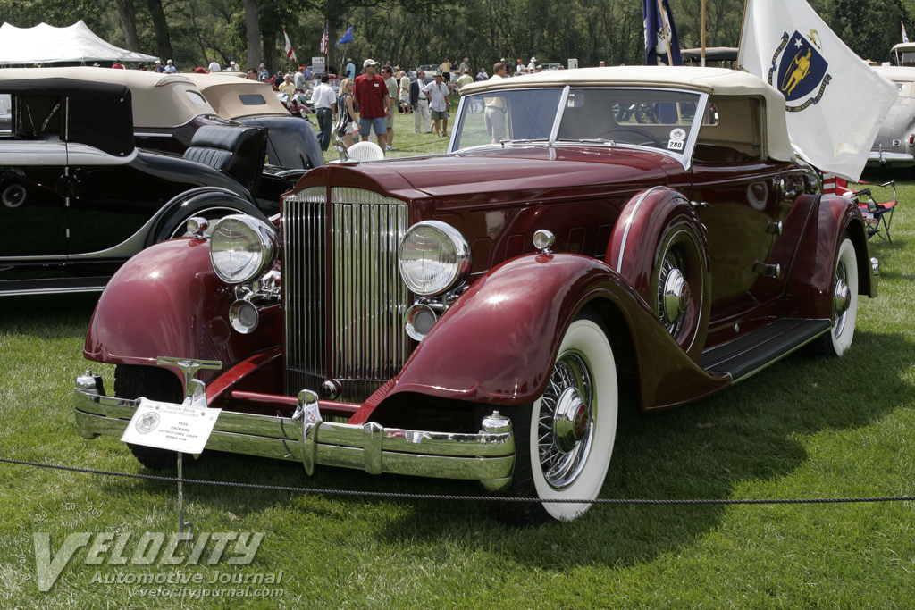 1934 Packard Dietrich Convertible Coupe