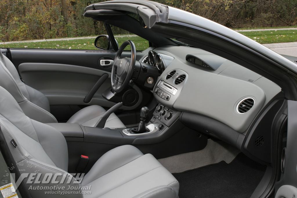 2007 Mitsubishi Eclipse Spyder GT Interior