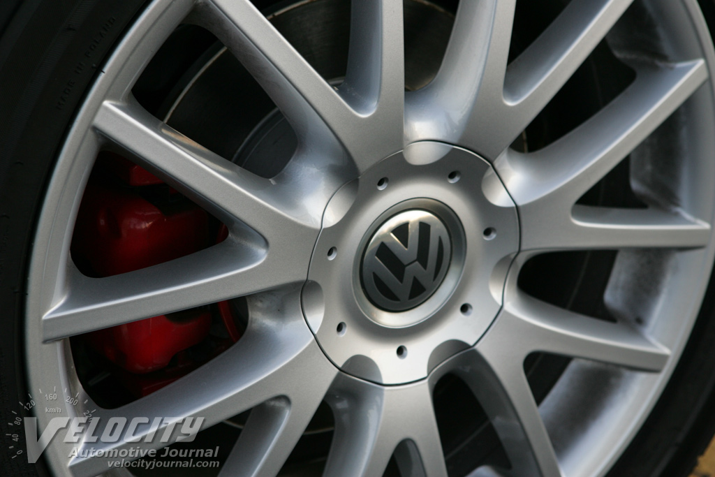 2007 Volkswagen GTI 4-door Wheel