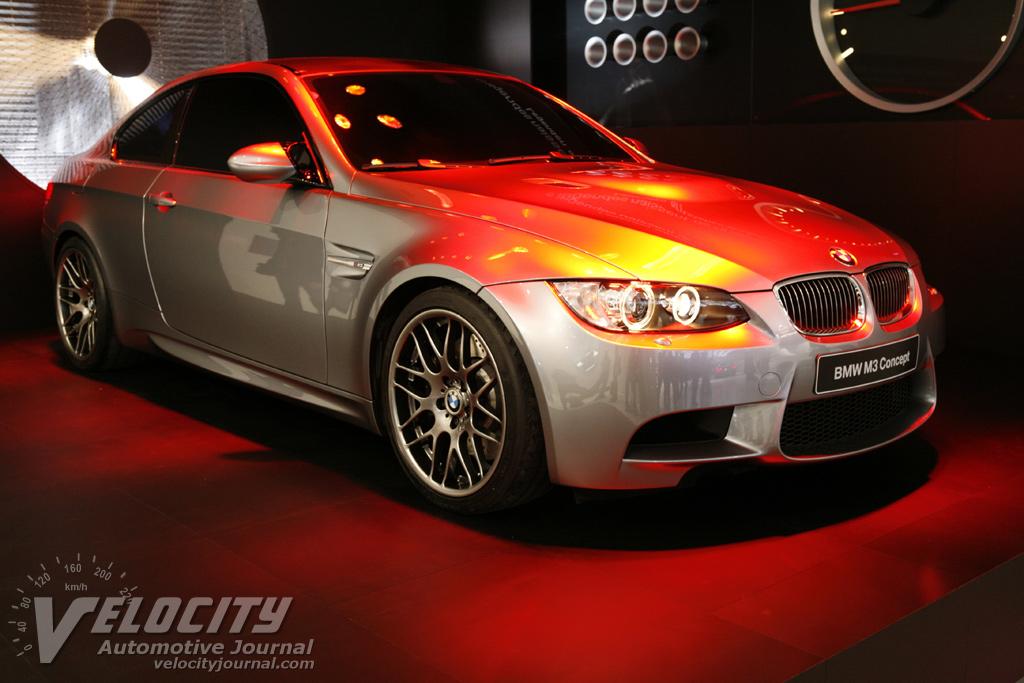 2007 BMW M3 Concept pictures