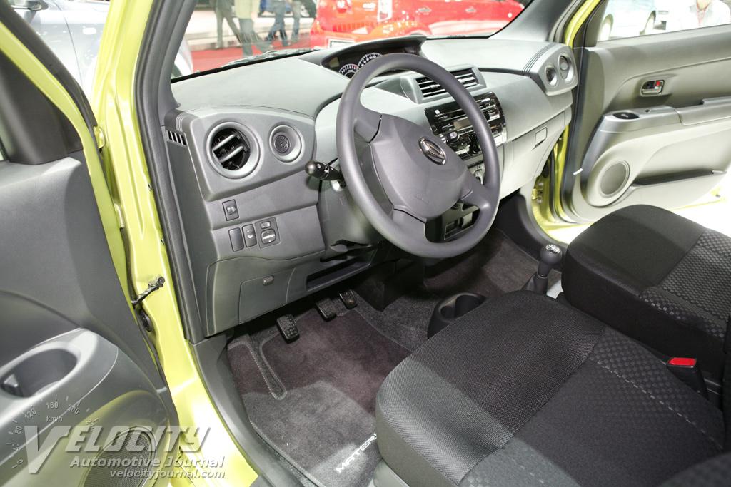 2007 Daihatsu Materia Interior