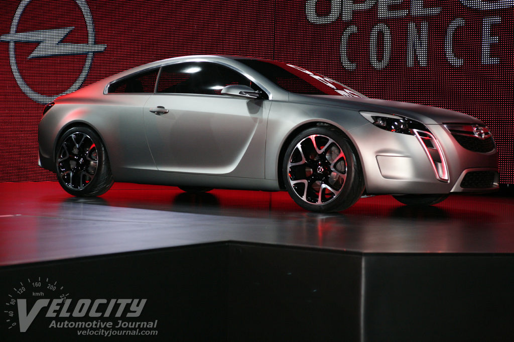 2007 Opel Gtc Concept Pictures