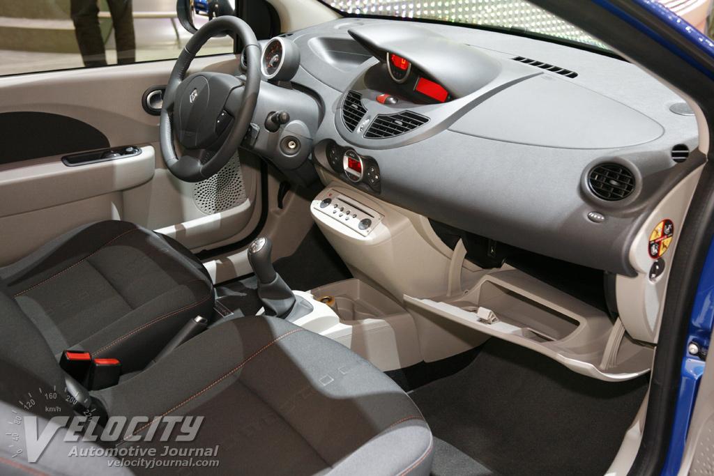 2007 Renault Twingo Interior