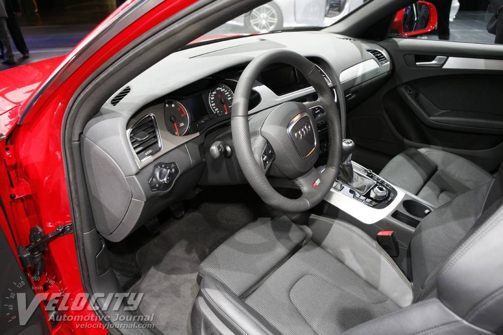 2009 Audi A4 Sedan Interior