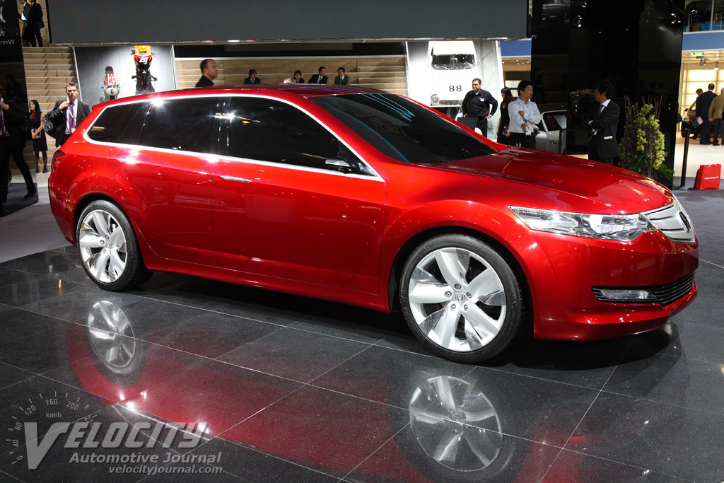 2007 Honda Accord Tourer Concept Pictures