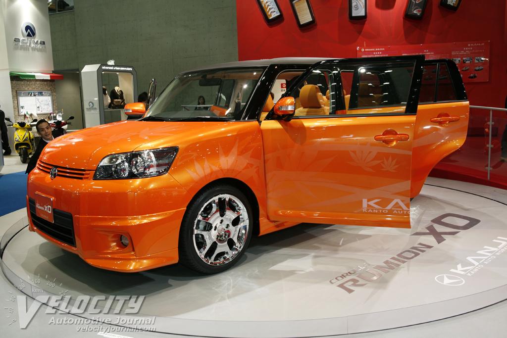 2007 Toyota Corolla Rumion xO