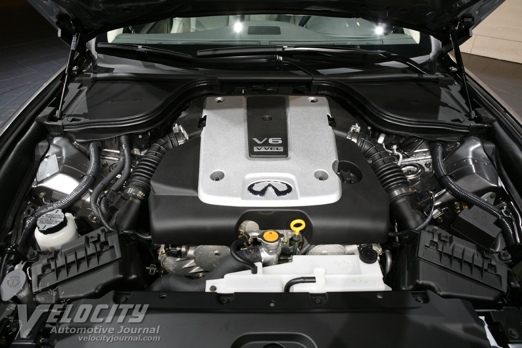 2008 Infiniti G Coupe Engine