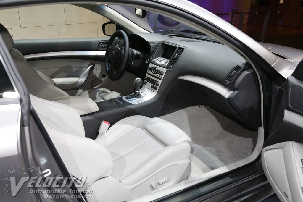 2008 Infiniti G Coupe Interior