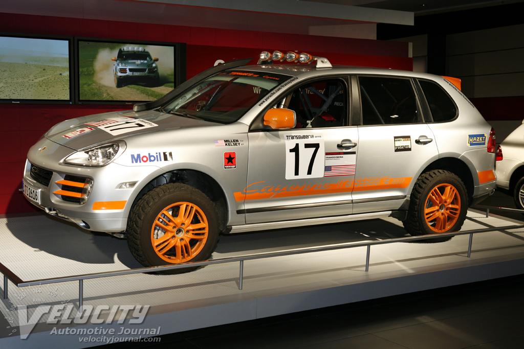 2007 Porsche Cayenne Transsyberia Racer