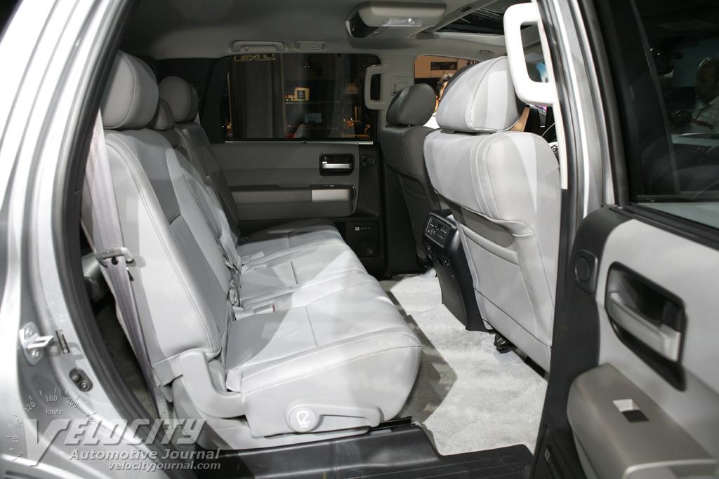 2008 Toyota Sequoia Interior