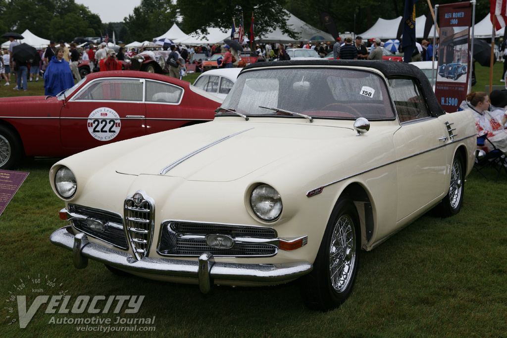 1957 Alfa Romeo 1900CSS Ghia-Aigle Cabriolet