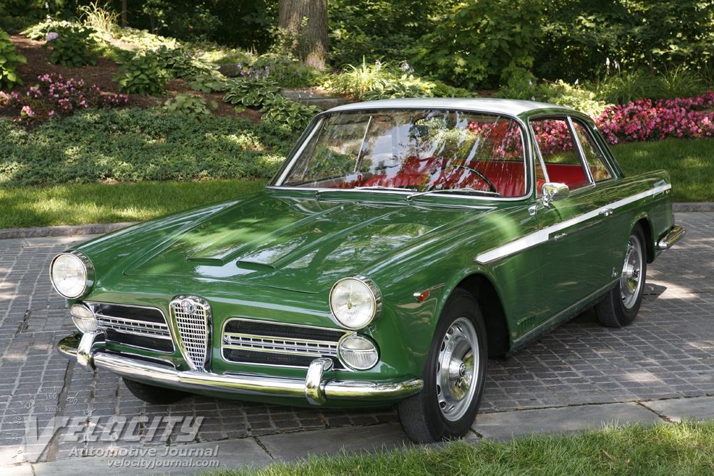 1960 Alfa Romeo 2000 Vignale Prototype