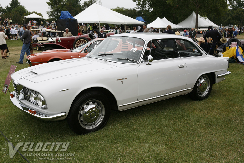 1964 Alfa Romeo 2600 Sprint Coupe by Bertone