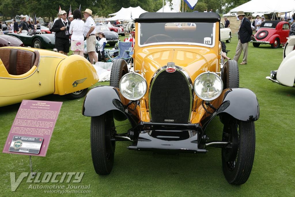 1930 Bugatti T 40 Drophead coupe by Tomas