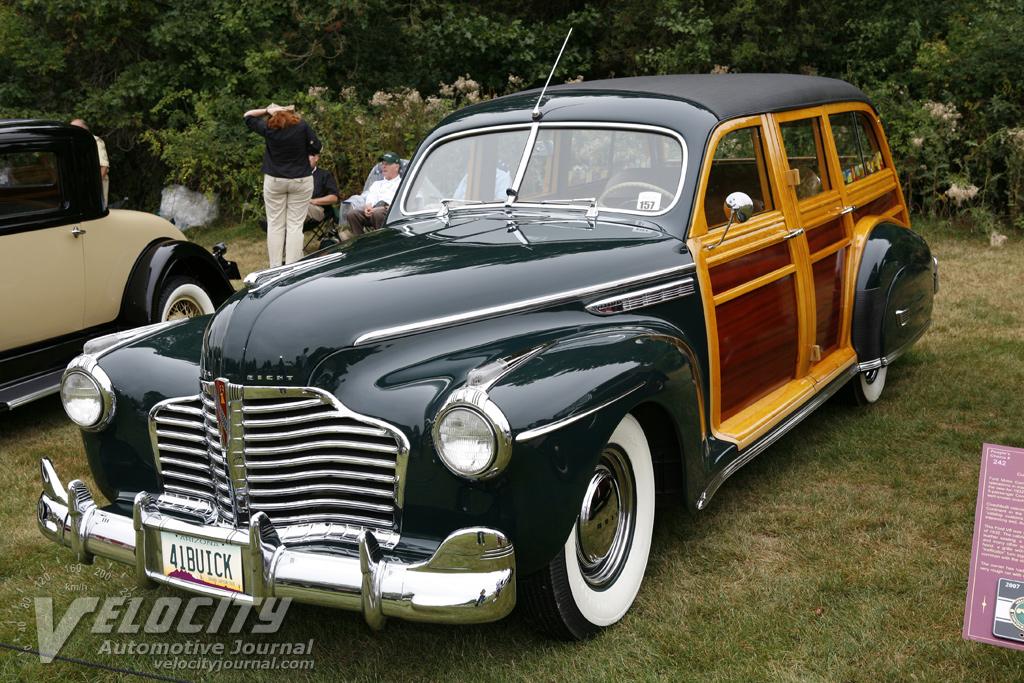1941 Buick Estate Wagon